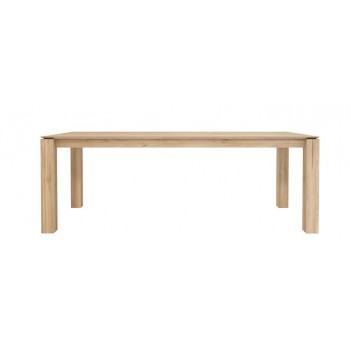 ETHNICRAFT SLICE OAK DINING TABLE 220 CM