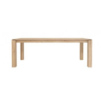 ETHNICRAFT SLICE TABLE À MANGER EN CHÊNE 220 CM