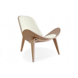 SHELL PLYWOOD LOUNGE CHAIR