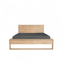 ETHNICRAFT OAK NORDIC II BED 180x200