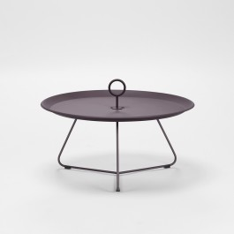 EYELET SIDE TABLE OUTDOOR PLUM DIA 70