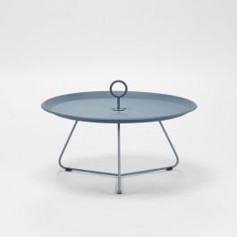 EYELET SIDE TABLE OUTDOOR DARK GREY DIA 70 CM